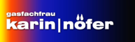 Gasfachfrau Karin Nöfer Logo